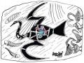 17-Miglio-ingabbiato-dentro-unibis-rupestre-australiano