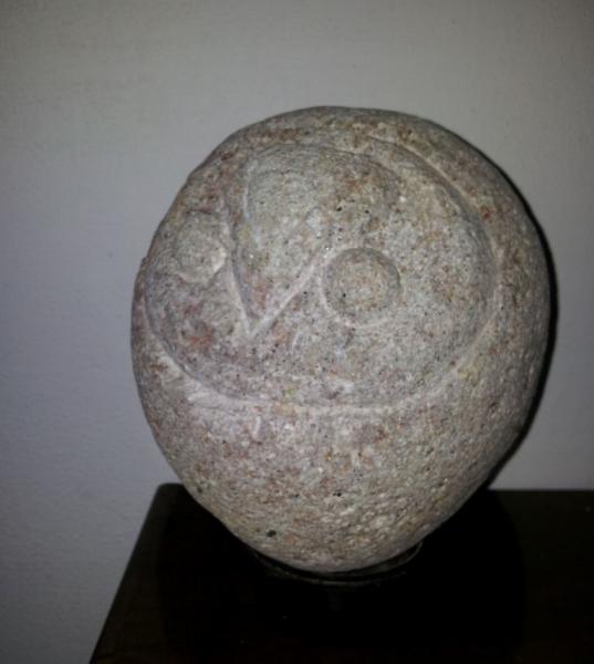 25._2009._civetta._scultura_in_granito._altezza_cm_30
