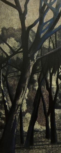 samantha_cianchi,_gli_alberi_2013_50x120_cm_tecnica_mista,_acrilico_inciso