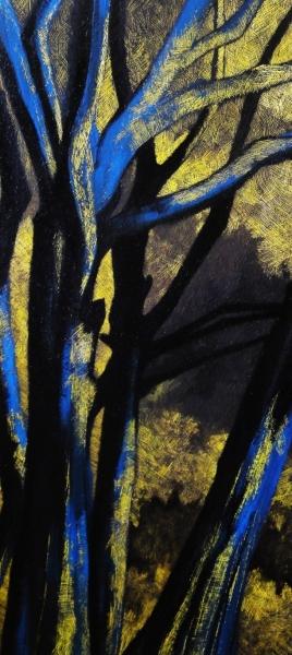 samantha_cianchi,_paesaggio_con_alberi_2013_90x50_tecnica_mista,_acrilico_inciso_su_legno_bis