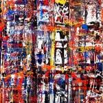 Jackson1,5 x 1 meter painting in Copenhagen 2011