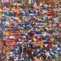 Tivoli 1,5 x 1 meter painting in Copemhagen in 2011