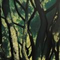 Samantha Cianchi, L'Albero, 2013 50x120 cm Tecnica mista, Acrilico inciso