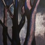 Samantha Cianchi, Silhouette di tronchi II 2012