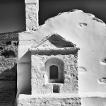 Church on Amorgos, Cyclades, Greece.