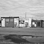 Patterson's Garage, Beadnell, Northumberland.