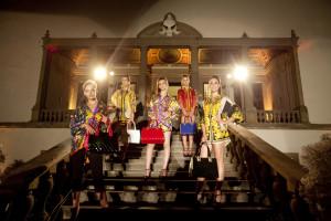 Le modelle ad Artimino - photo Tranchese