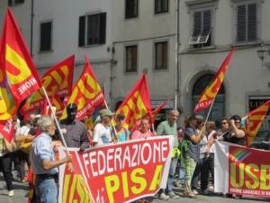 sciopero usb toscana 2