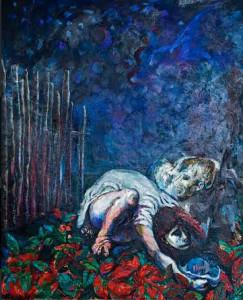 eccidio seppellimento figlia