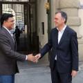 Sajjan Jindal incontra il presidente enrico rossi