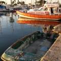 barca semiaffondata