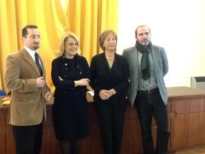 Da sinistra: Daniele Zotti, SIlvia Melani, Mariagrazia Messerini, Marco Gemelli