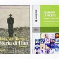 Cover dei libri 'Storia di Dan' e 'Costruire la società' riguardanti Israele.