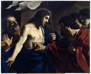 Guercino Incredulità di S. Tommaso