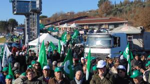 Cia Toscana manifestazione 10 febbraio