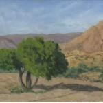 Argan che guarda la valle 25 x 55