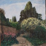 Il giardino in primavera 100 x 95_001