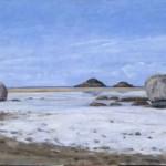 Sassoni, prima che arrivi il sole, 1998 45 x 80