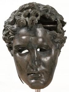 Ritratto di un diadoco in bronzo 290 AC - 280 AC