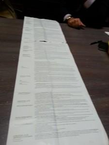 burocrazia lista