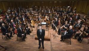 Daniel Harding och Sveriges Radios Symfoniorkester Foto: Micke Grönberg/SR
