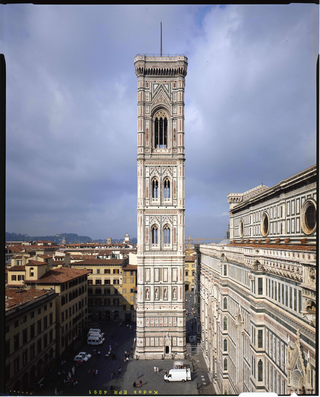 Campanile di Giotto, courtesy Opera di Santa Maria del Fiore , foto ...
