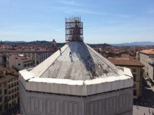 restauro del Battistero di Firenze, courtesy Opera di Santa Maria del Fiore (1)