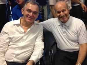 Rossi e presidente Cevital