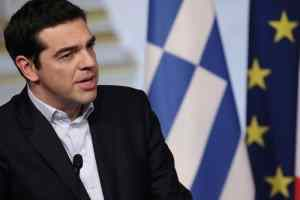 Parigi,Francois Hollande riceve Alexis Tsipras all'Eliseo