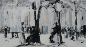 End of August 1898, acrylico su tela, 120 x 220, 2014