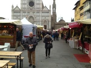 mercatino tedesco in piazza santa croce