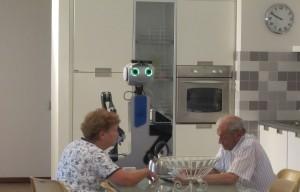 robot in interno domestico