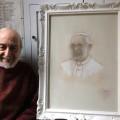 Papa-Francesco-ritratto-del-Maestro-Galeazzo-Auzzi