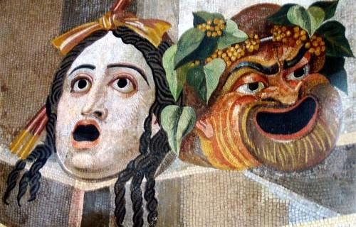Maschere_del_teatro_antico_rappresentate_in_un_mosaico