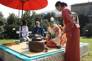 camelie cerimonia del tè