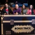 La giuria di Bonus Track e il conduttore Luigi Alberto Dini - foto Pamela Nocentini