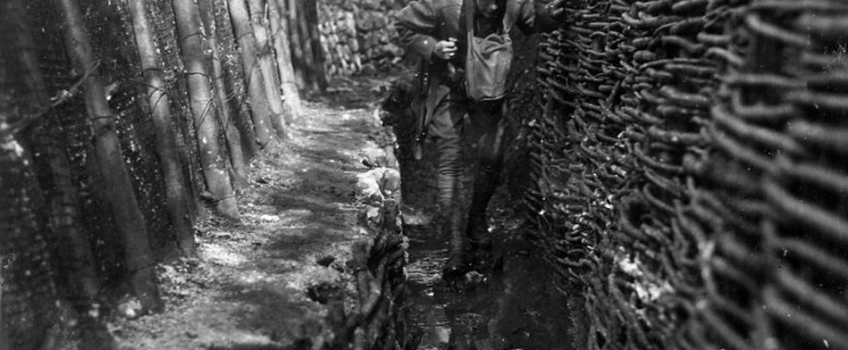 prima guerra mondiale soldati in trincea