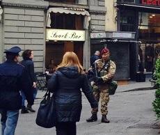 terrorismo soldato sicurezza
