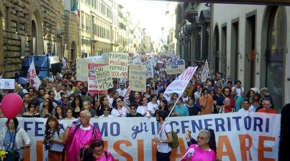 folla anti inceneritore