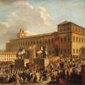 Antonio Cioci, Festa davanti al Palazzo del Quirinale, 1767