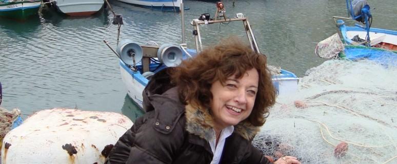 La poetessa Elena Salibra