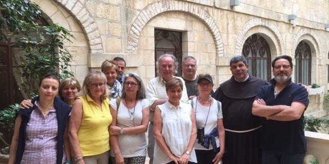 Foto delegazione - padre Faltas