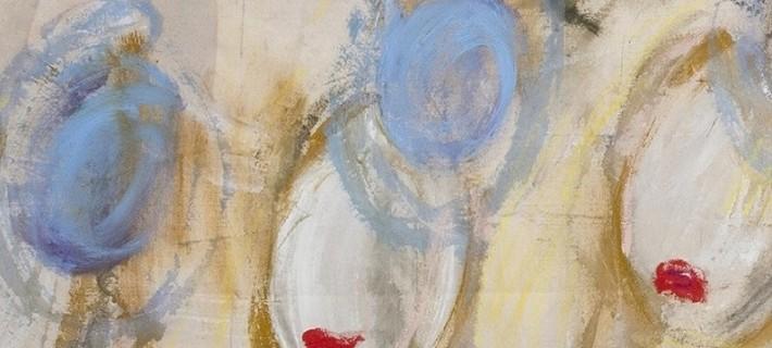Jennifer Crisanti, 1000 pz made in Italy, particolare, 2016, tecnica mista su tela, 285x195 cm