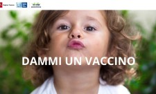 """""""Dammi un vaccino"""", la campagna della Regione"""