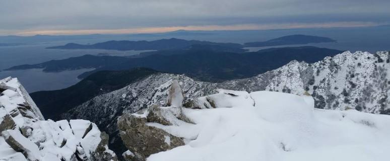 Monte Capanne innevato