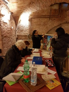 raccolta iscrizioni Biennale Foiano 1