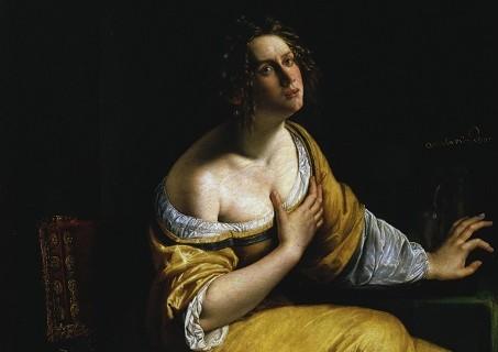 Artemisia Gentileschi particolare