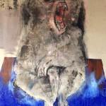Baboon, Oil on Canvas, 2016