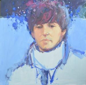 Beatle Paul - 2012 - 50x50 - olio su tela