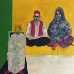 Couple Having Tea In Marrakech1935-oil-on-canvas-200-x-200-cm-2016